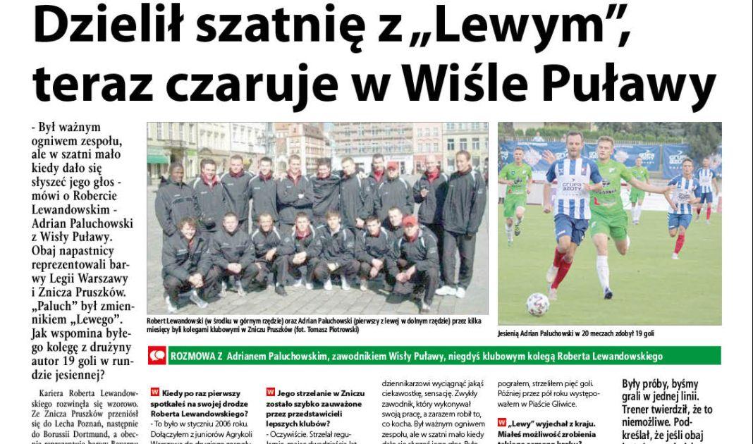 """Dzielił szatnię z """"Lewym"""", teraz czaruje w Wiśle Puławy - Zdjęcie główne"""