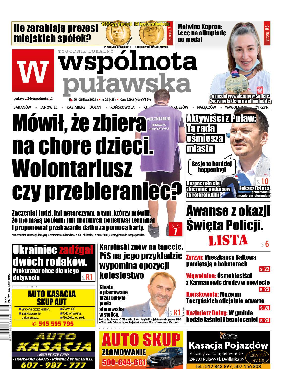 Najnowszy numer Wspólnoty Puławskiej - Zdjęcie główne