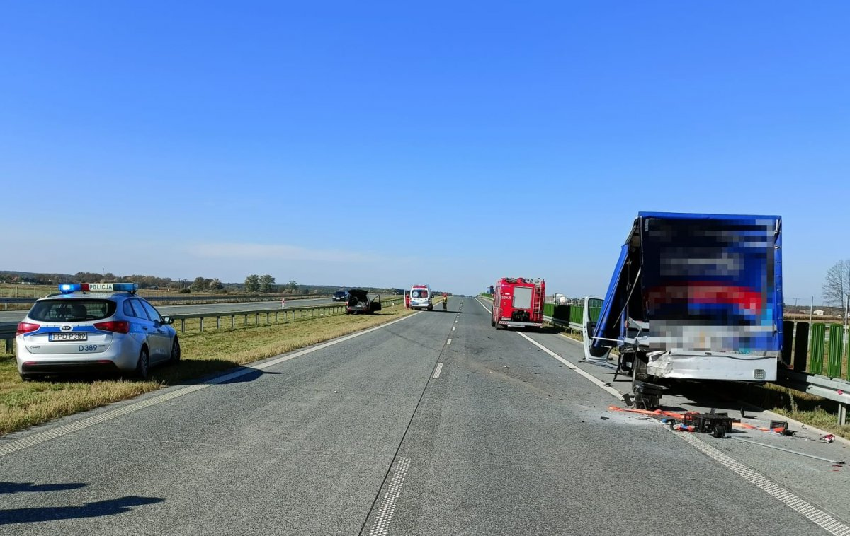 Droga do Warszawy zablokowana - Zdjęcie główne