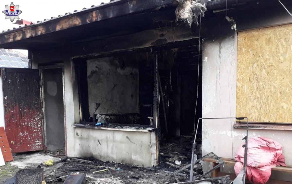 Pożar w Puławach, 65 - letnia kobieta nie żyje (aktualizacja) - Zdjęcie główne