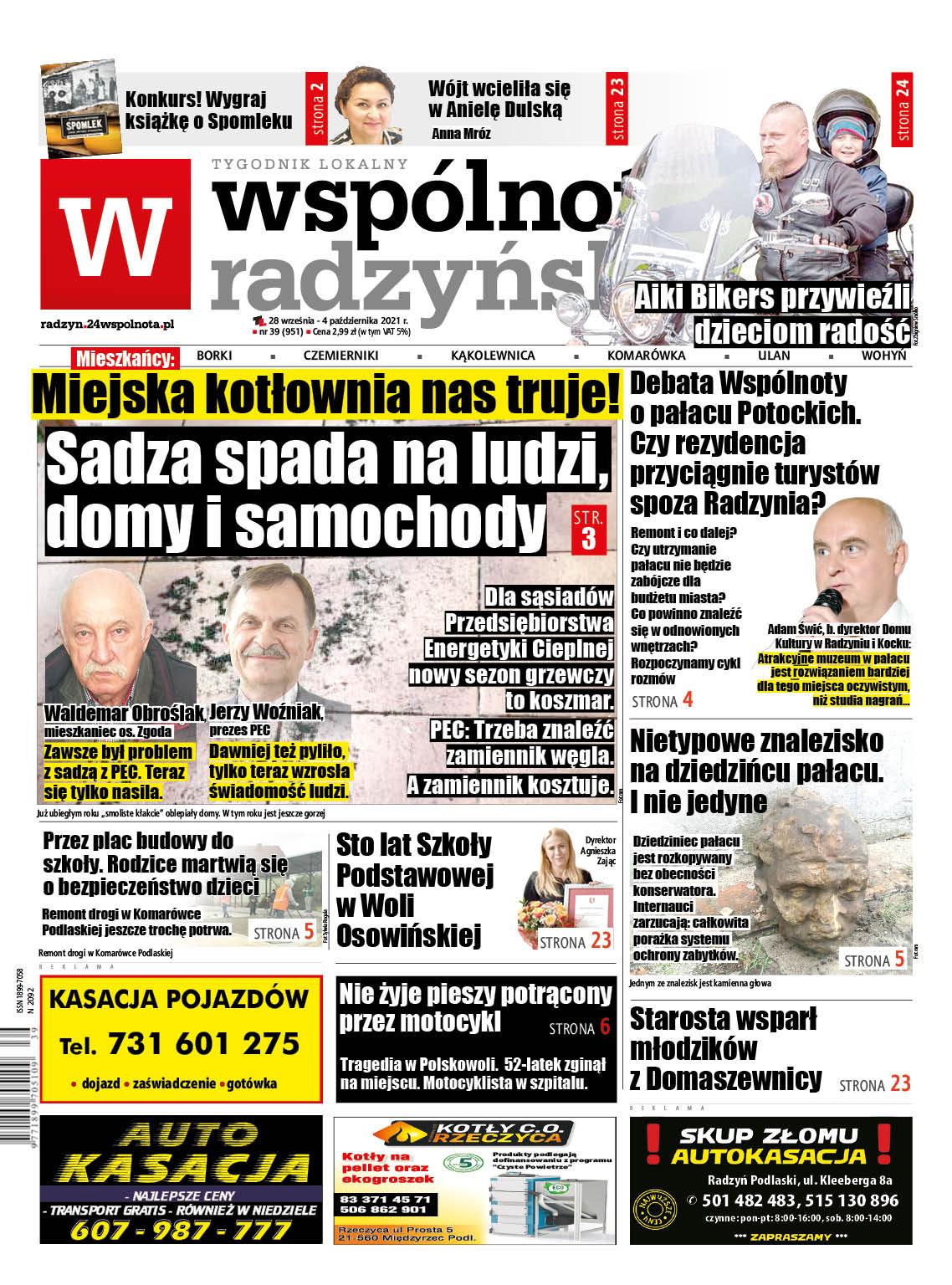 Najnowszy numer Wspólnoty Radzyńskiej - Zdjęcie główne