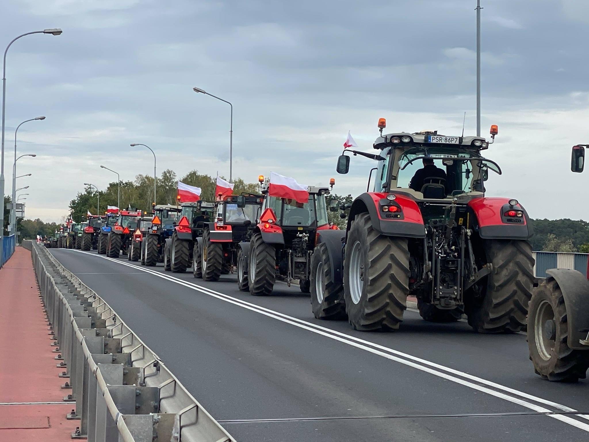 Rolnicy zablokują DK 63 pod Ulanem  - Zdjęcie główne