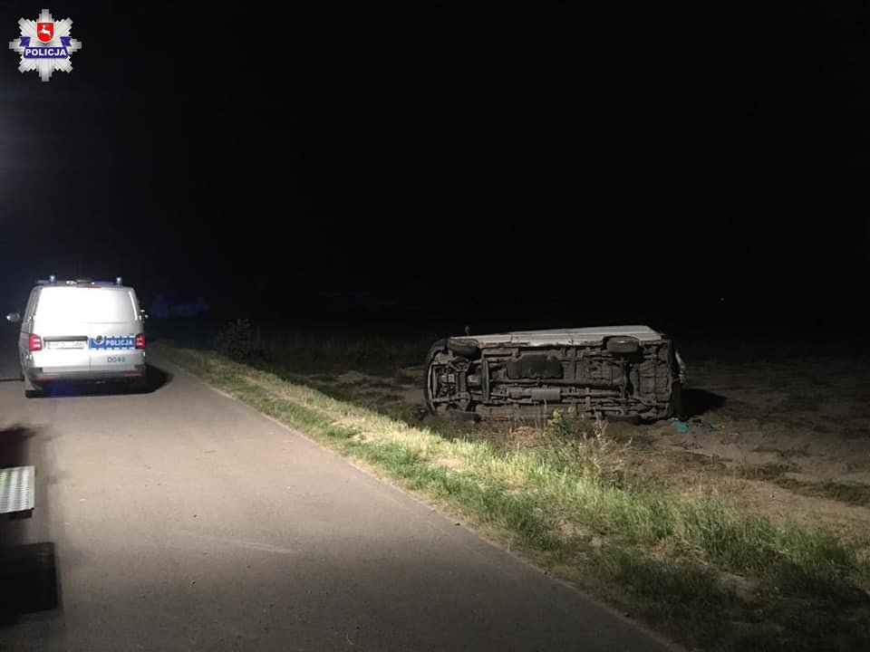 Powiat radzyński: Zatrzymany kierowca, który staranował radiowóz i potrącił policjanta - Zdjęcie główne