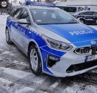 BMW wpadło do rowu na obwodnicy Radzynia Podlaskiego. 20-letni kierowca pod wpływem narkotyków  - Zdjęcie główne