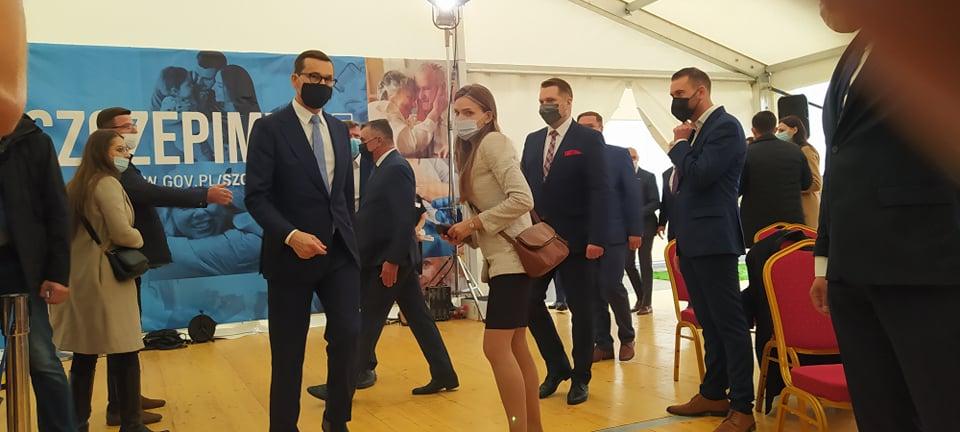 Branica Radzyńska: Premier Mateusz Morawiecki przyjechał na rozpoczęcie roku szkolnego - Zdjęcie główne
