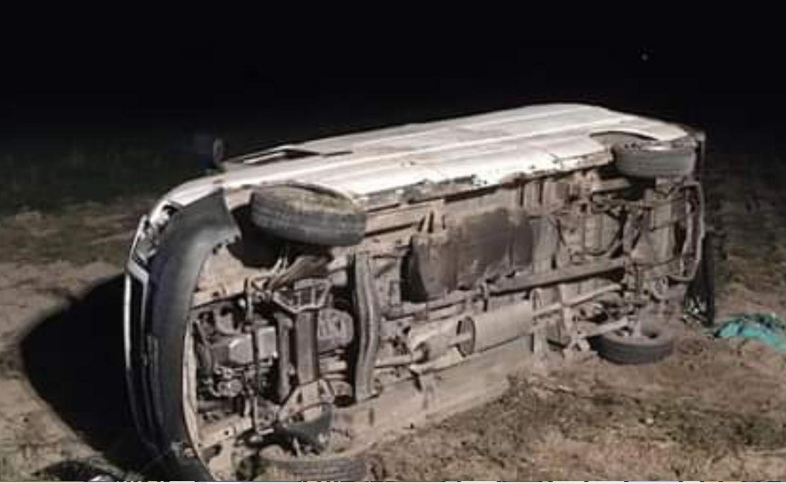 Pod Radzyniem Podlaskim kierowca busa potrącił policjanta - Zdjęcie główne