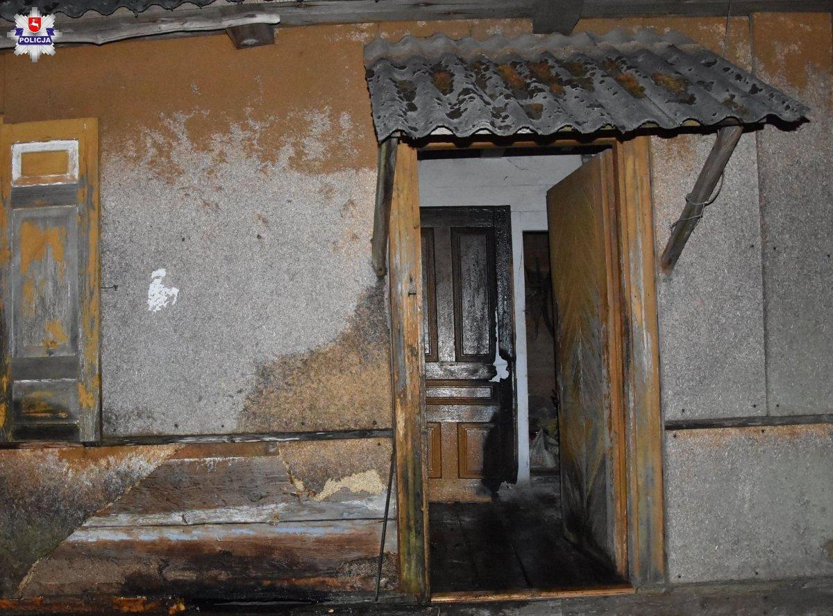 68-latek zginął w pożarze domu - Zdjęcie główne
