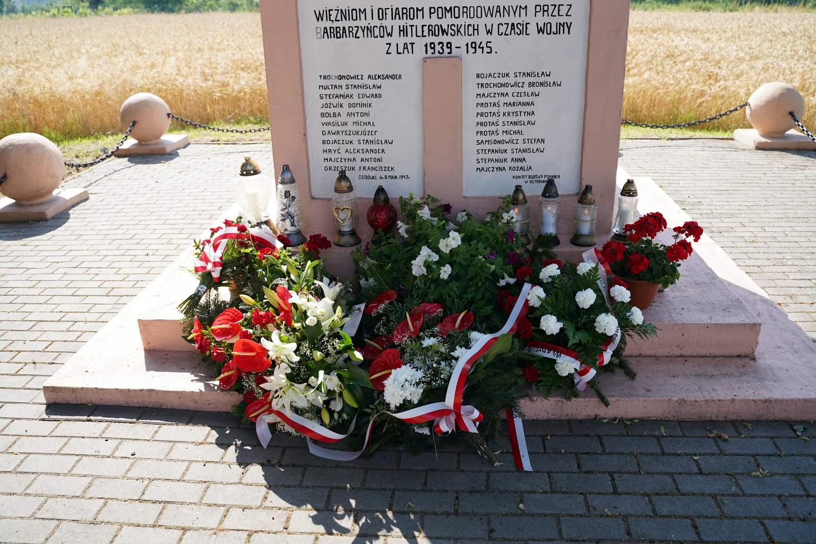 Uczcili pamięć ofiar Męczenników Wsi Polskiej - Zdjęcie główne