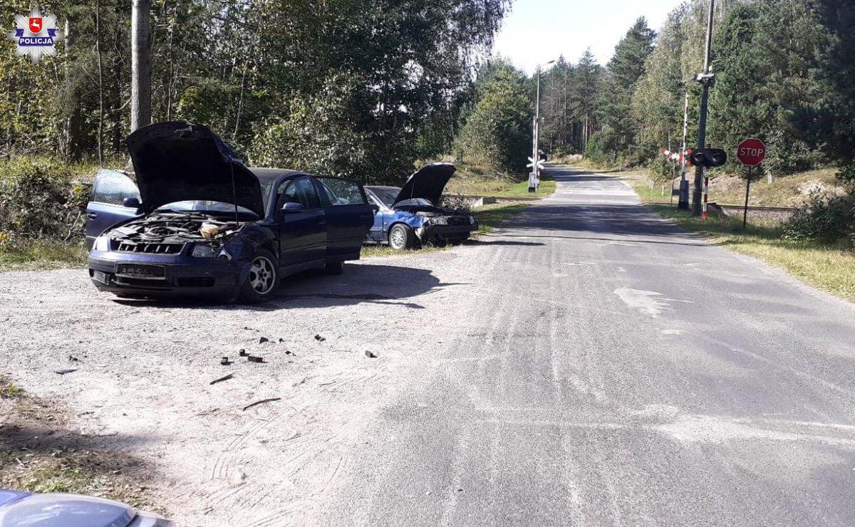 BIAŁKA: Zderzył się z innym autem. Małe dzieci trafiły do szpitala - Zdjęcie główne
