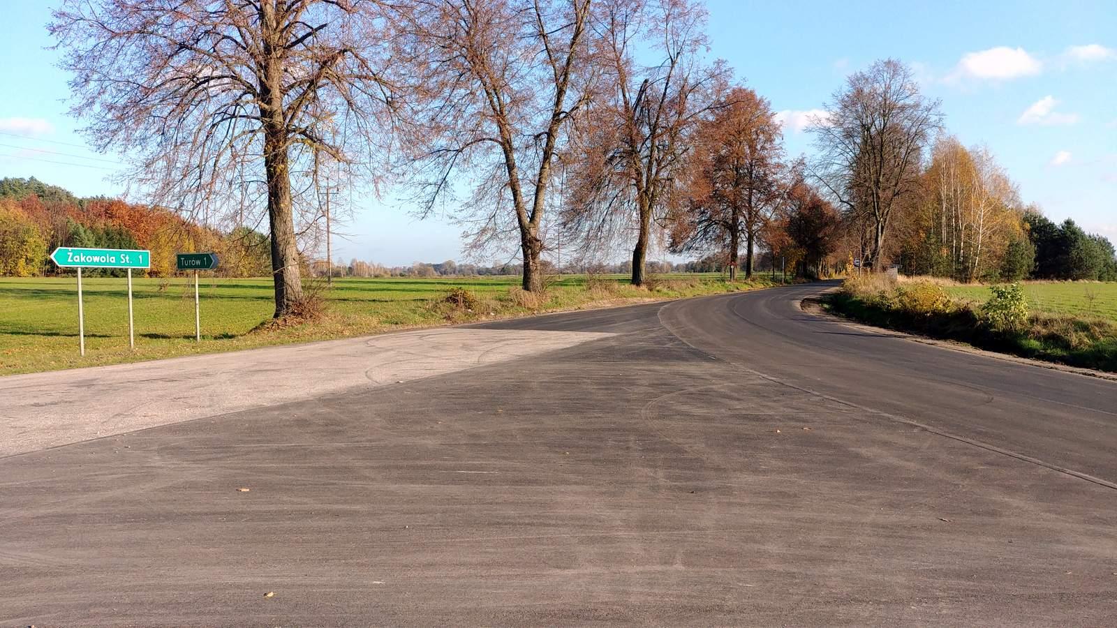 Kolejne powiatowe drogi wyremontowane - Zdjęcie główne