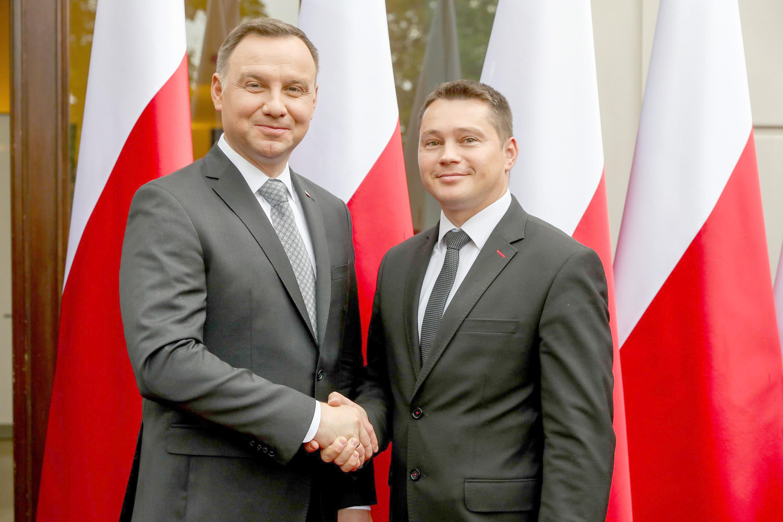 Radosław Sałata, wójt gminy Borki został doktorem  - Zdjęcie główne
