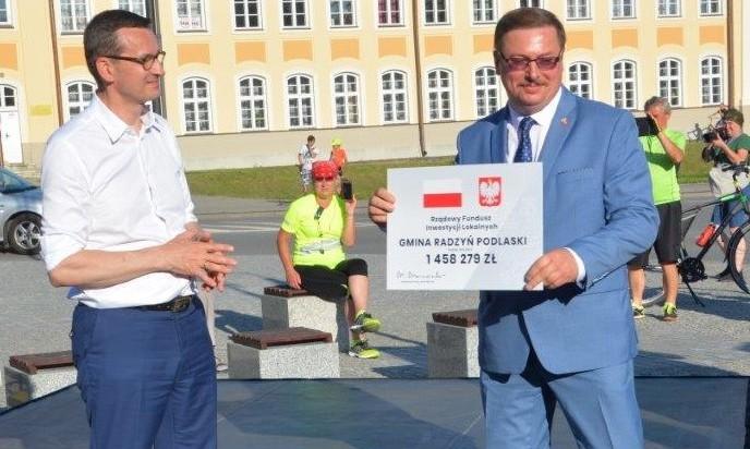 4 mln z gm. Radzyń dla powiatu na przebudowę dróg - Zdjęcie główne