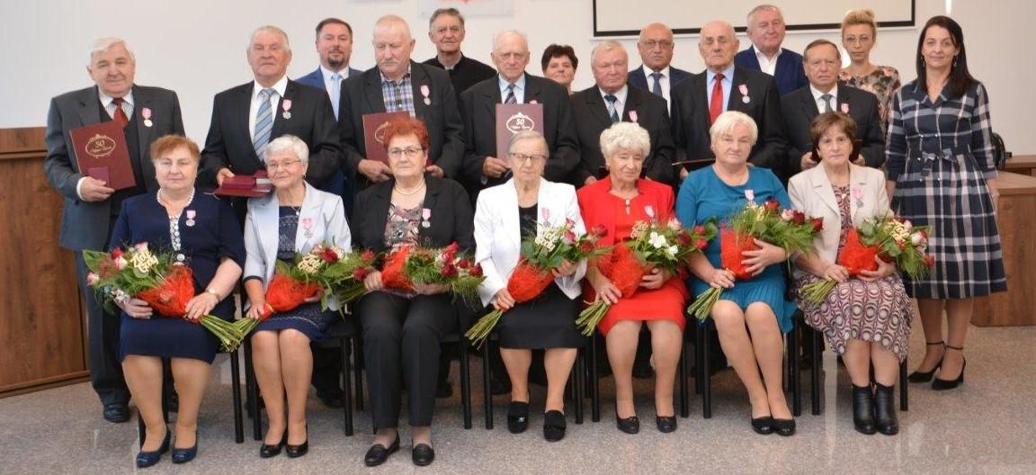 Gm. Radzyń: jubileusz 50 – lecia pożycia małżeńskiego - Zdjęcie główne