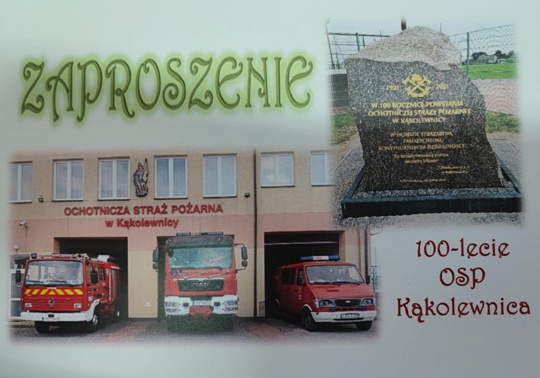 W niedzielę obchody 100-lecia OSP Kąkolewnica - Zdjęcie główne