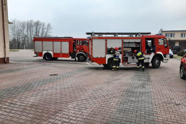Dzwonimy po ratunek do straży pożarnej  - Zdjęcie główne