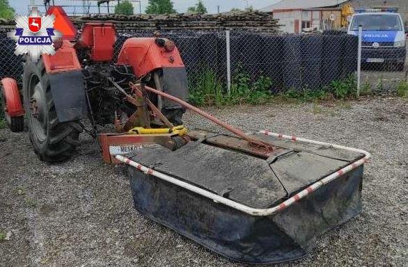 Traktorzysta bez uprawnień i na podwójnym gazie - Zdjęcie główne