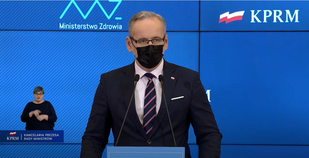 Koronawirus: Czwarta fala pandemii. Minister zdrowia: Mówmy o obostrzeniach, nie lockdownie - Zdjęcie główne