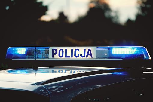 Lublin: Odpowie za zniszczenie drzwi, elewacji i ulicy. Wymazał jest sprayem - Zdjęcie główne