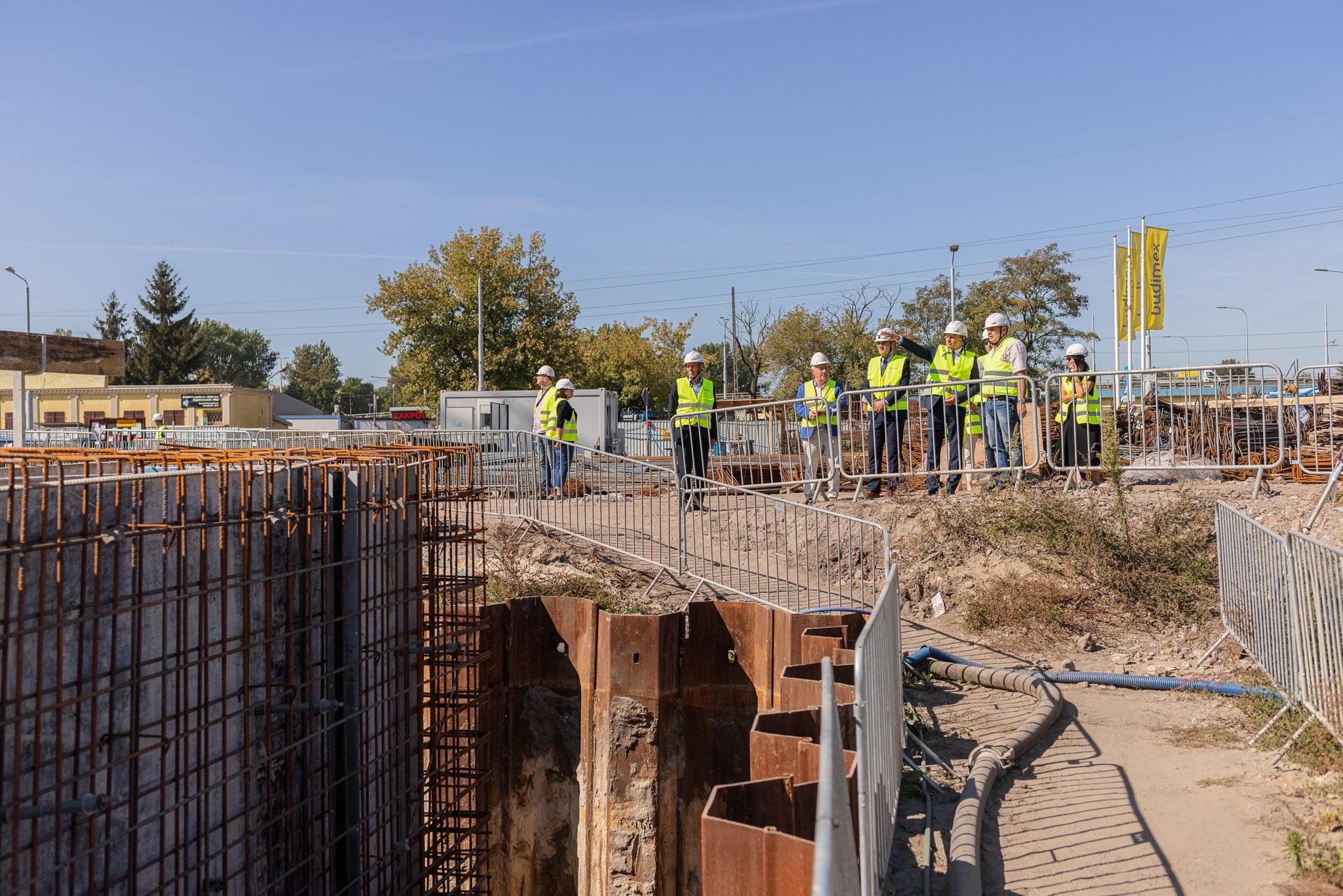 Lublin: Trwa budowa Dworca Metropolitalnego. Skorzystają z niego mieszkańcy miasta i całego regionu - Zdjęcie główne
