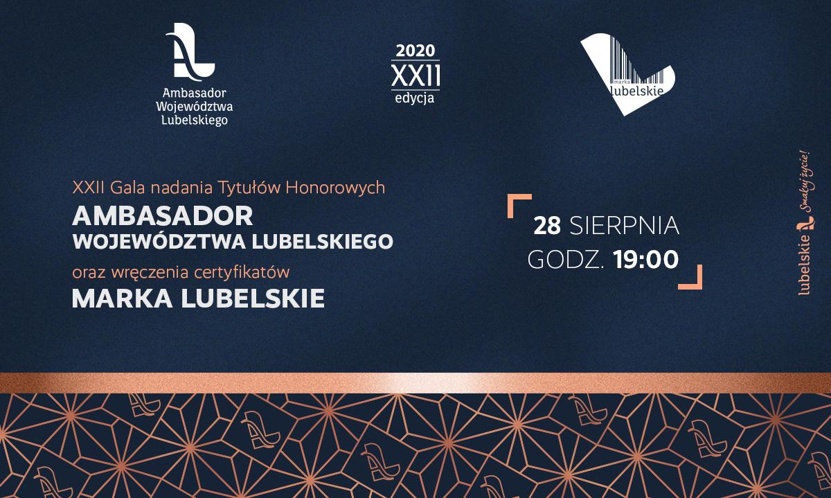 Województwo lubelskie: Kolejni zostaną Ambasadorami Województwa Lubelskiego. W weekend gala - Zdjęcie główne