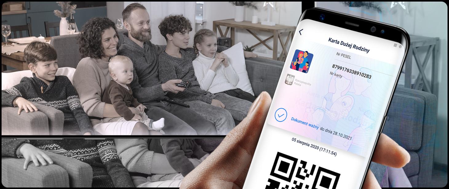 Lublin: Karta Dużej Rodziny dostępna teraz w innej aplikacji - Zdjęcie główne