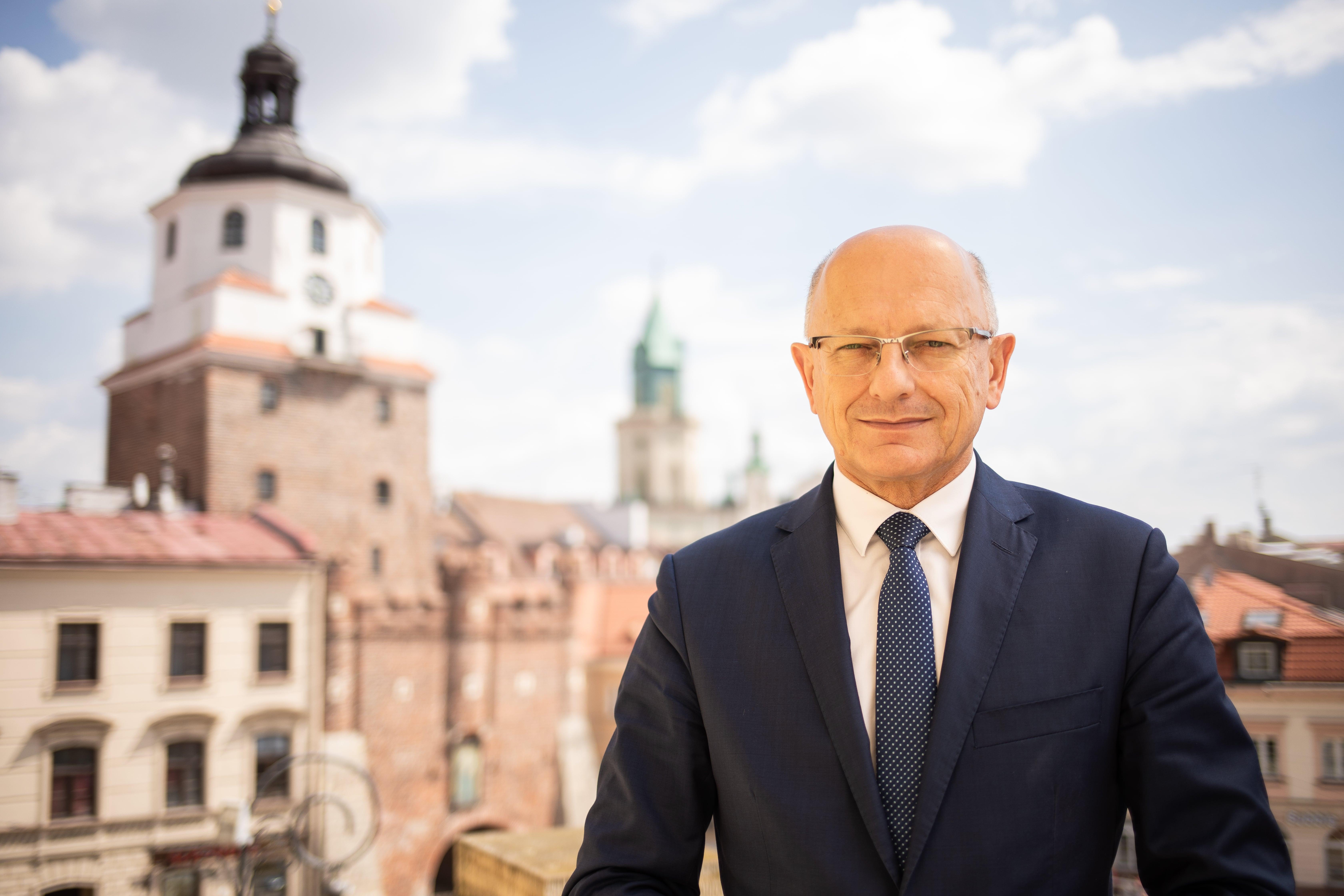 Krzysztof Żuk rządzi miastem od 10 lat - Pełnienie funkcji Prezydenta Lublina to dla mnie zaszczyt i życiowa misja - mówi Żuk - Zdjęcie główne
