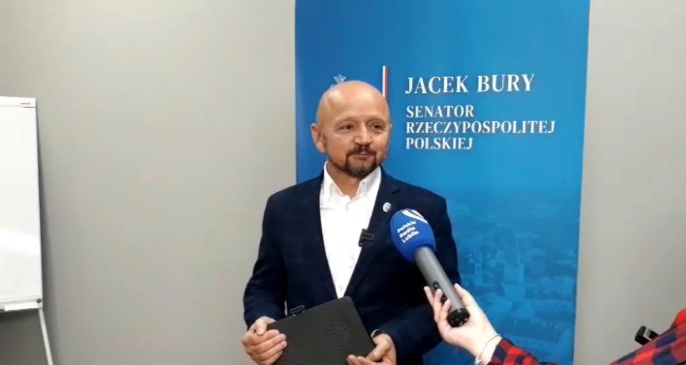 Lublin: Senator Jacek Bury proponuje zmiany w działaniu rad dzielnic. Żeby było więcej pieniędzy na inwestycje [WIDEO] - Zdjęcie główne
