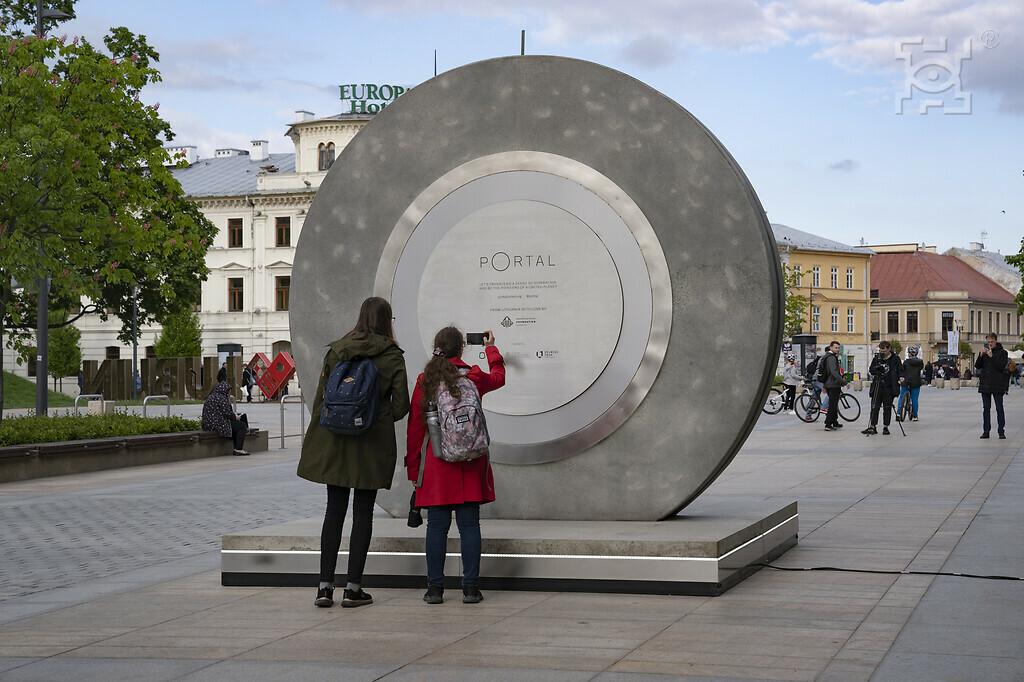 Lublin: Portal polsko-litewski na Placu Litewskim zostanie dłużej - Zdjęcie główne