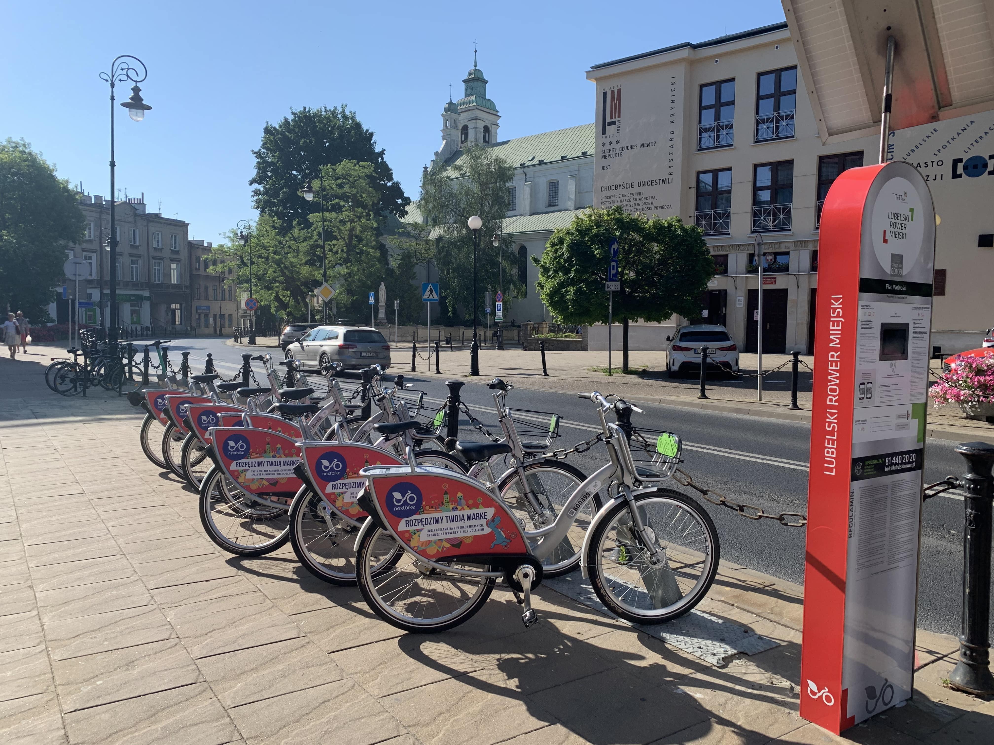 Lublin: wraca Lubelski Rower Miejski. Są zmiany i nowości - Zdjęcie główne