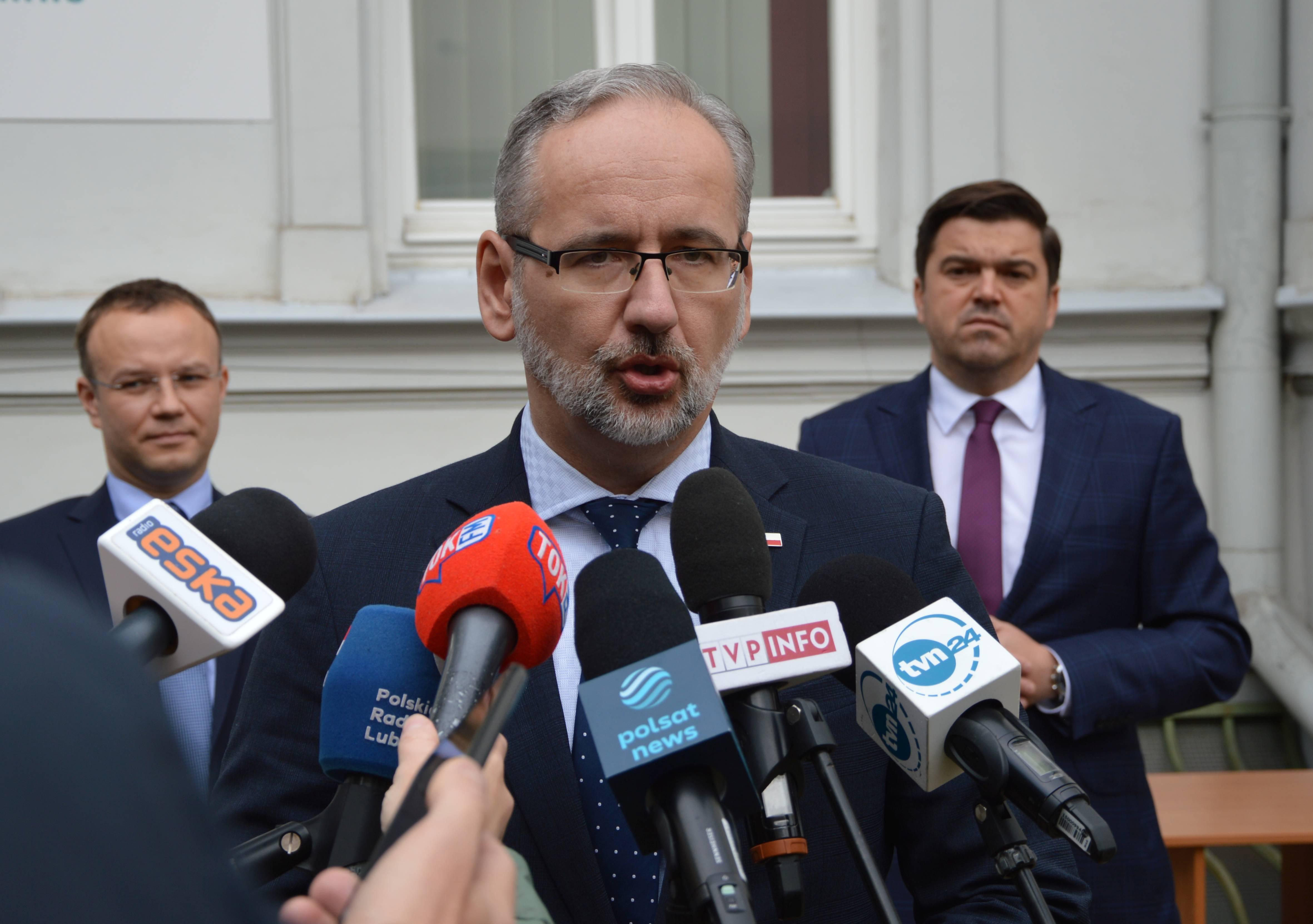 Minister zdrowia w Lublinie: W województwie lubelskim jest najwięcej zakażeń. Są trzy przyczyny - Zdjęcie główne