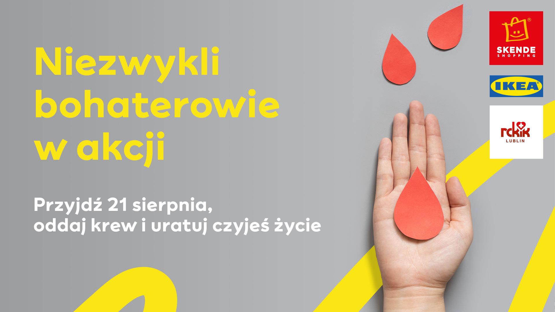 Lublin: W sobotę akcja krwiodawstwa. Krwiodawcy dostaną upominki - Zdjęcie główne