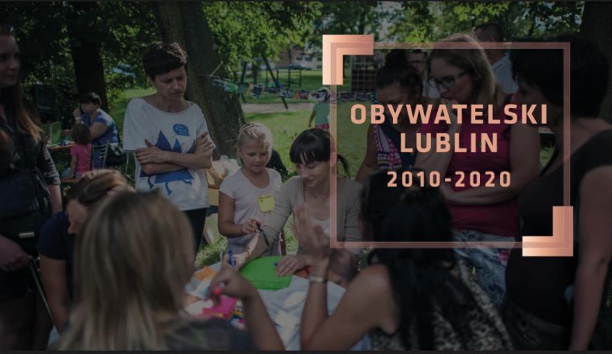 Miasto Lublin podsumowało dekadę działań partycypacyjnych - Zdjęcie główne