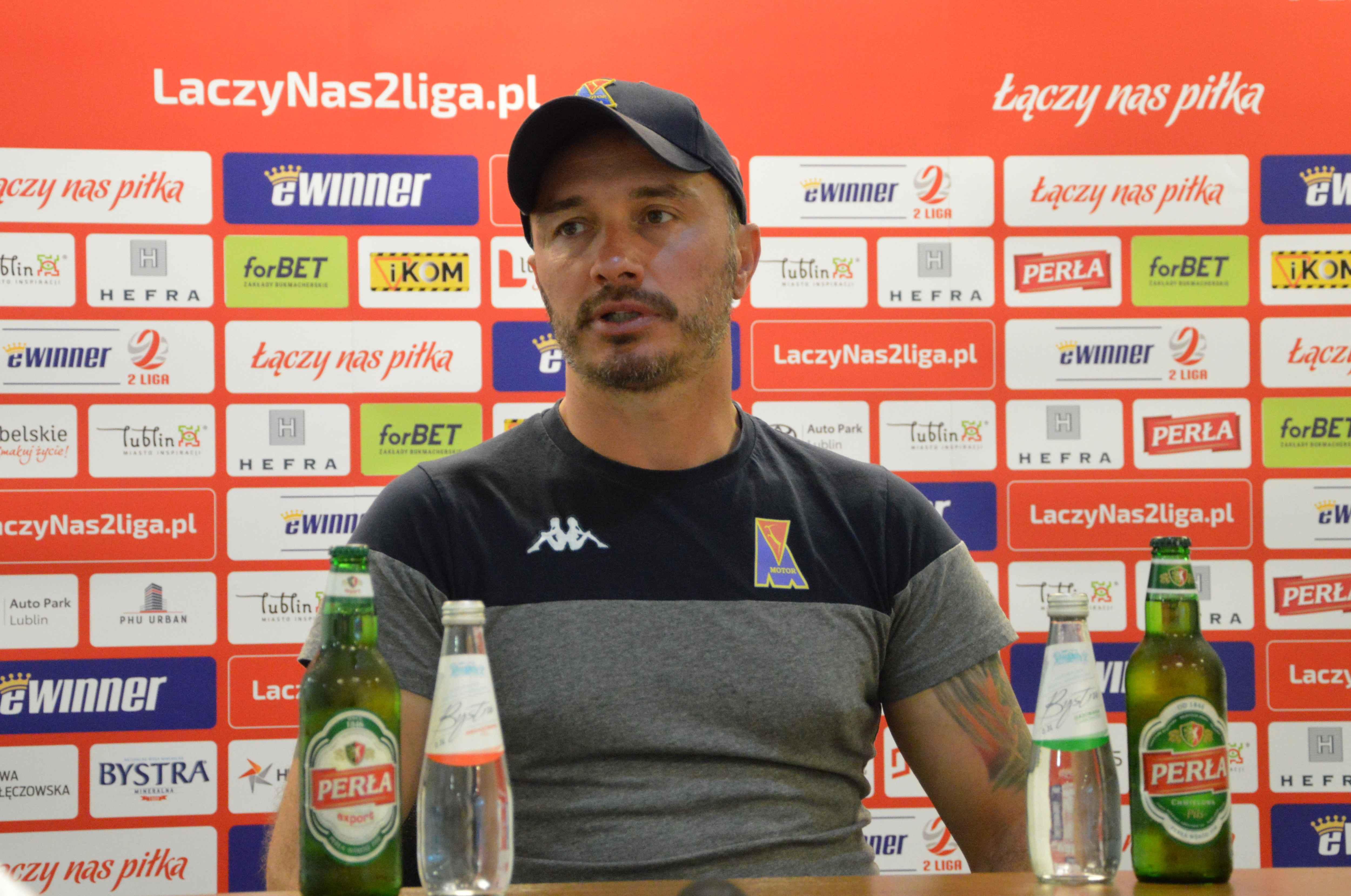 Marek Saganowski (Motor Lublin): Cel jest konkretny. To awans do wyższej ligi - Zdjęcie główne