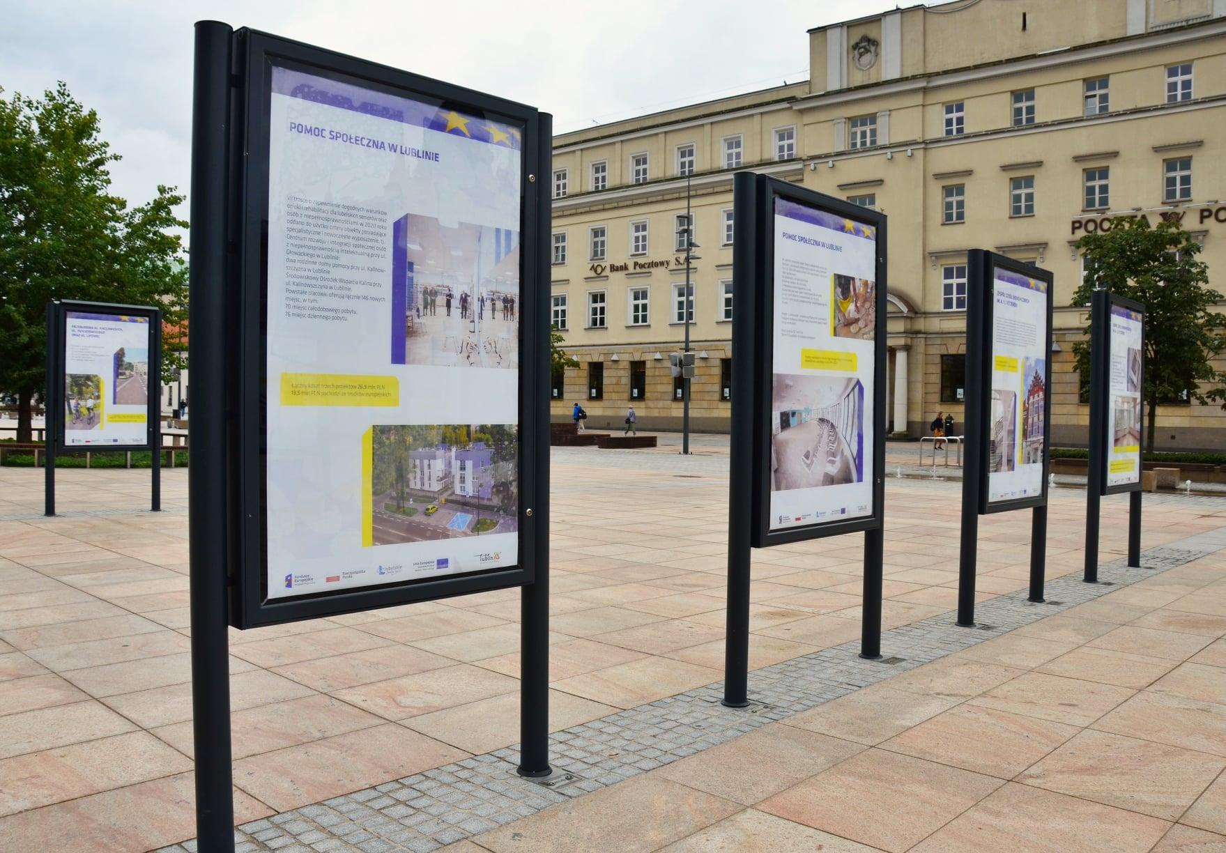 Lublin: Dofinansowane z Unii projekty na fotografiach. Można je oglądać na wystawach - Zdjęcie główne
