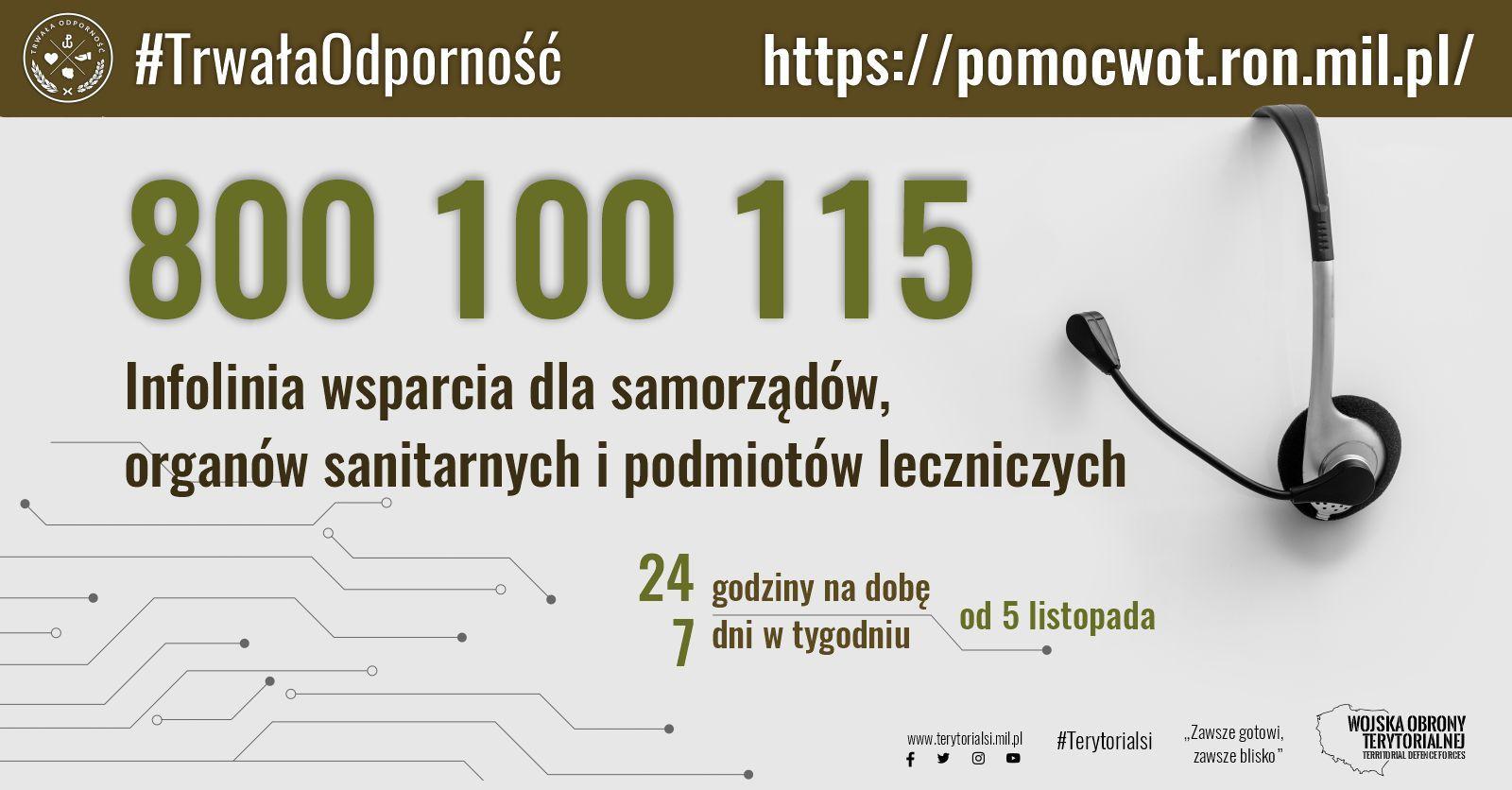 Uruchomiono infolinię wsparcia WOT. Lubelscy terytorialsi zachęcają do korzystania - Zdjęcie główne