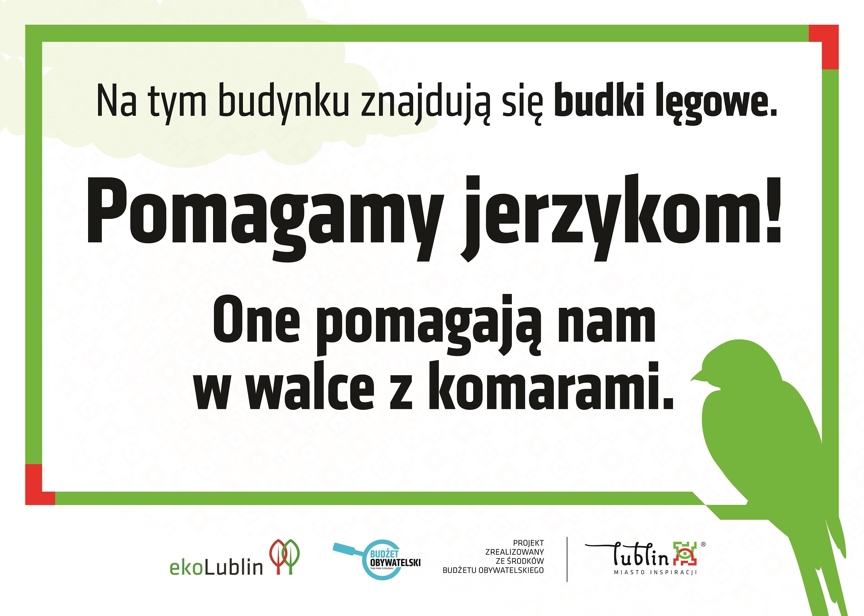 W Lublinie zawisną budki lęgowe dla jerzyków. Ptaki będą walczyć z komarami - Zdjęcie główne