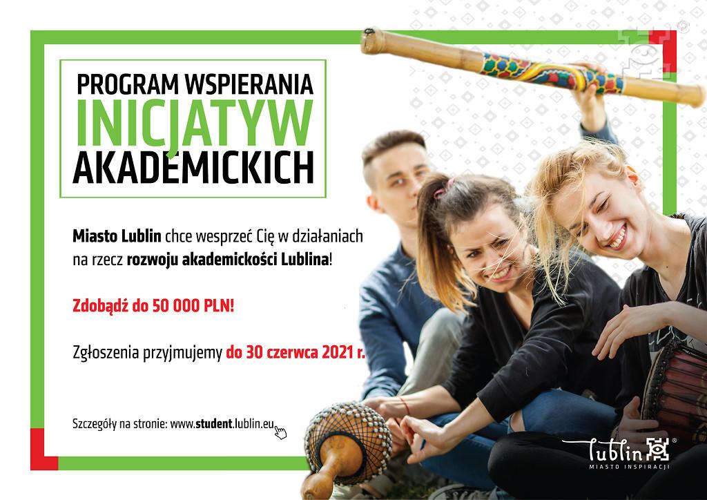 Lublin: Programu Wspierania Inicjatyw Akademickich. Nadal można ubiegać się o pieniądze - Zdjęcie główne