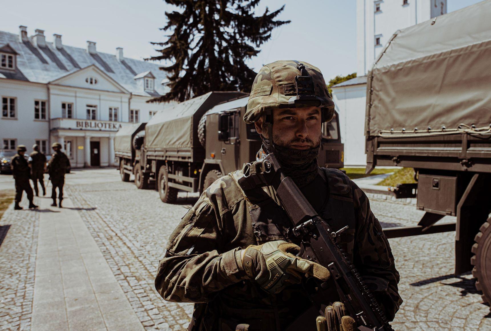 Województwo lubelskie: lubelscy terytorialsi na ćwiczeniach DRAGON-21 - Zdjęcie główne