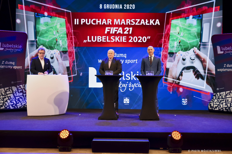 """II Puchar Marszałka FIFA 21 """"Lubelskie 2020"""" - Zdjęcie główne"""