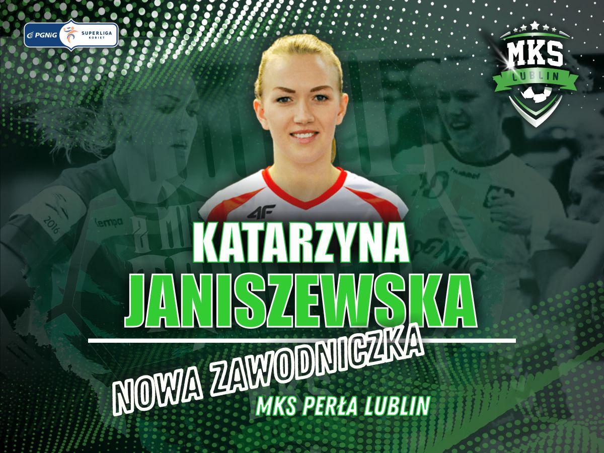 MKS Perła będzie miał nową skrzydłową. Katarzyna Janiszewska dołączy do mistrzyń Polski - Zdjęcie główne