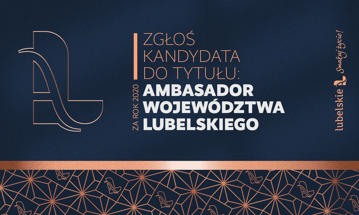 Poszukiwani Ambasadorzy Województwa Lubelskiego. Można zgłaszać kandydatów - Zdjęcie główne