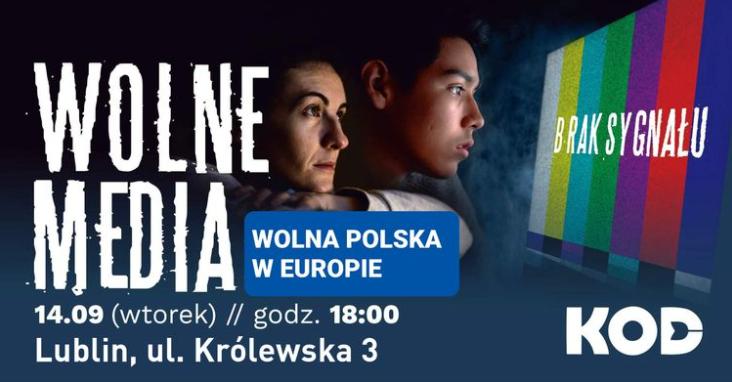 Lublin: KOD znowu będzie bronił wolnych mediów. We wtorek manifestacja - Zdjęcie główne
