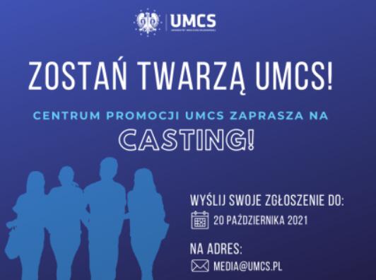 Lublin: UMCS szuka twarzy do promowania uczelni. Trwa casting - Zdjęcie główne