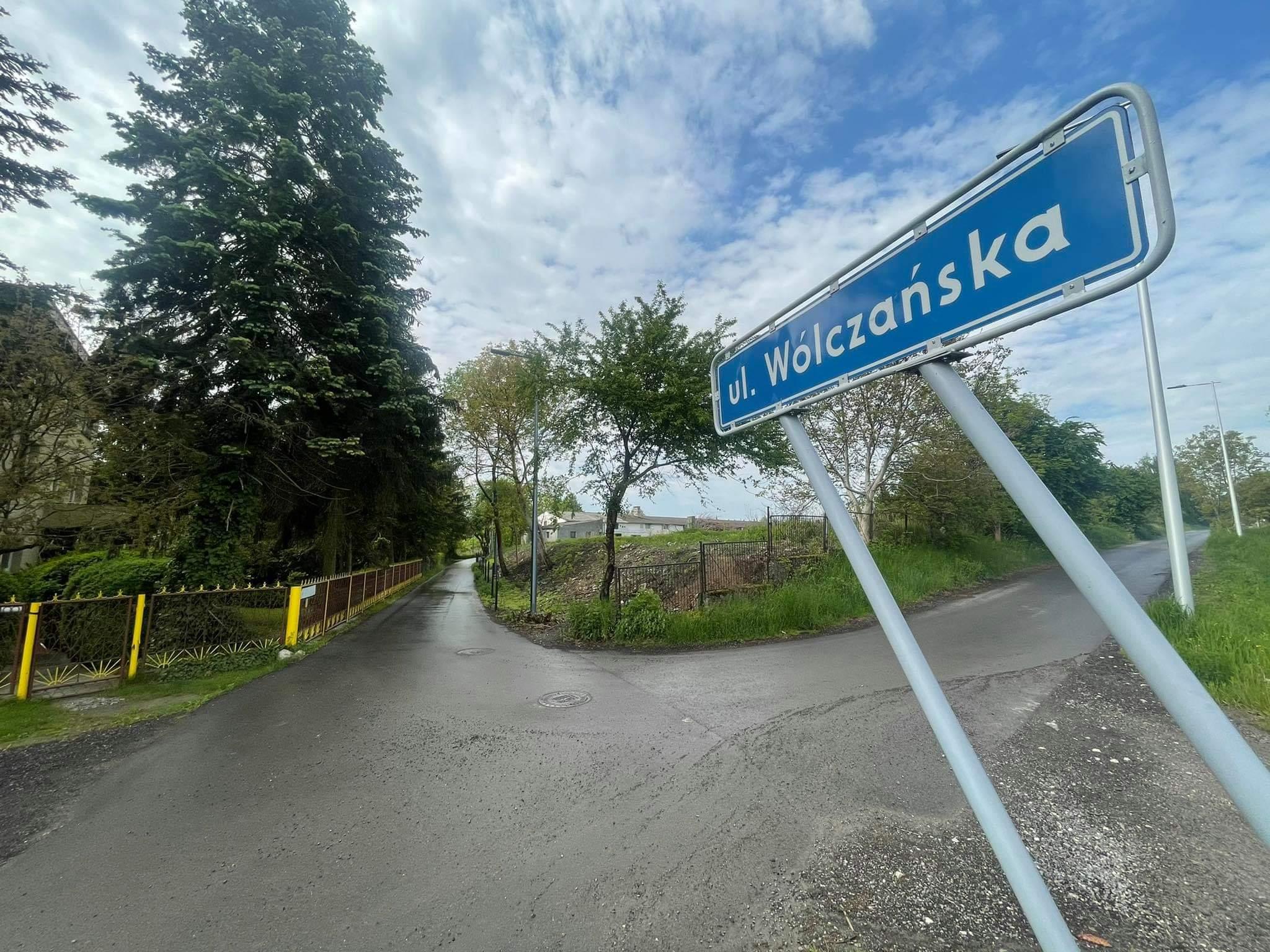 Lublin: ul. Wólczańska z nową nawierzchnią. Odnowiona droga służy mieszkańcom od roku - Zdjęcie główne