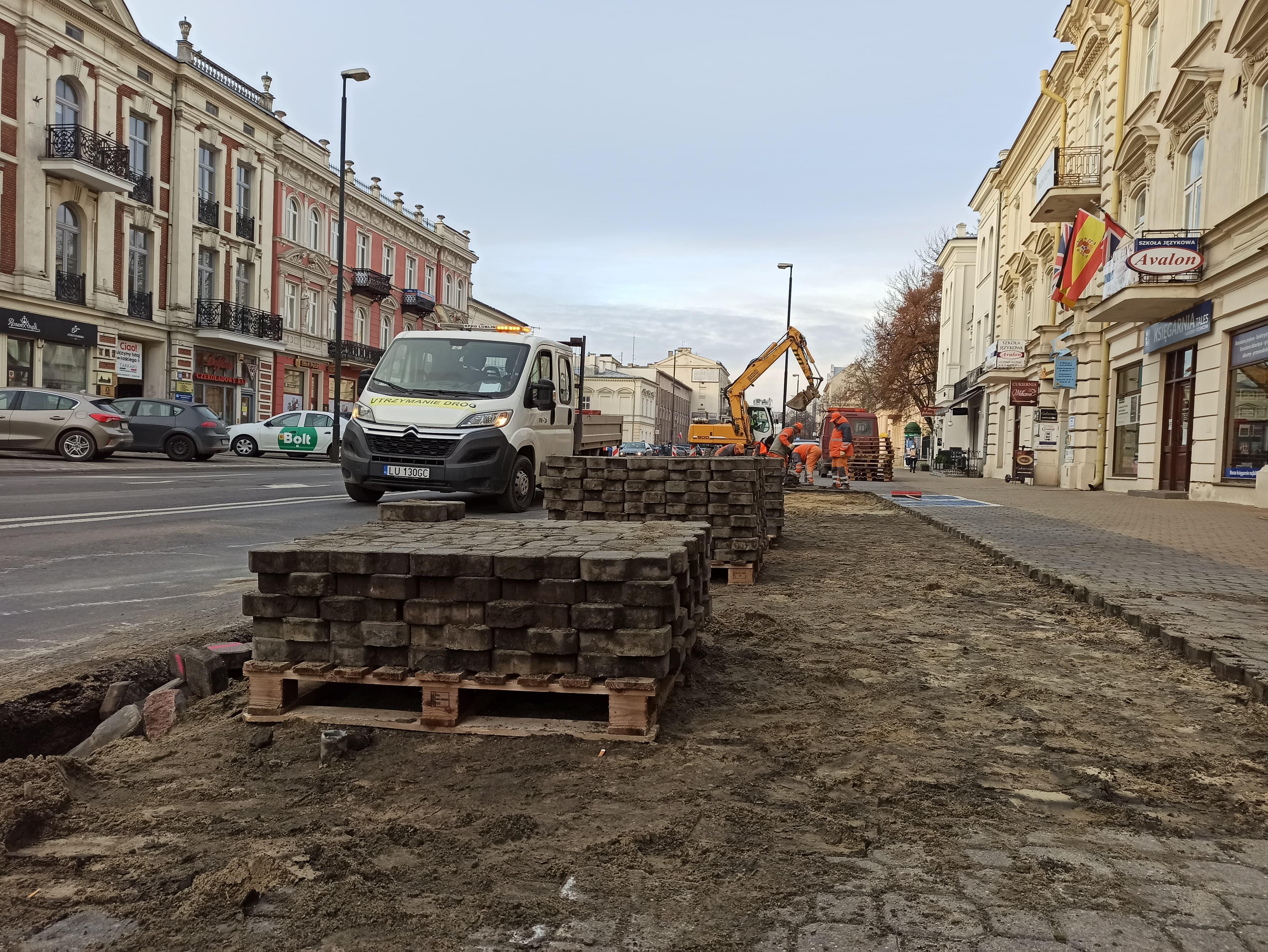 Nowa zieleń w centrum Lublina. Prace rozpoczęte - Zdjęcie główne