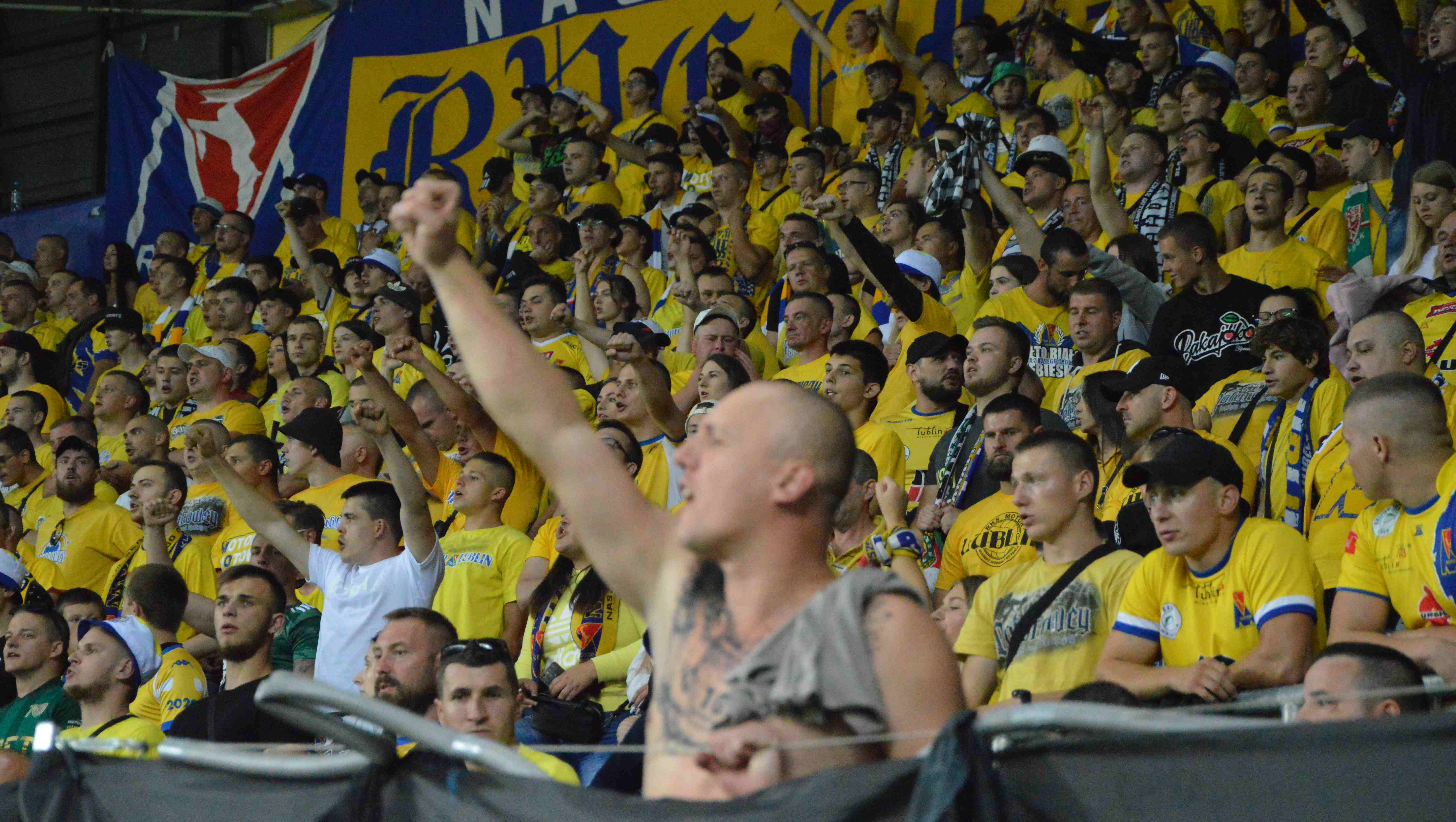 Kibice na meczu Motor Lublin - Ruch Chorzów [GALERIA] - Zdjęcie główne