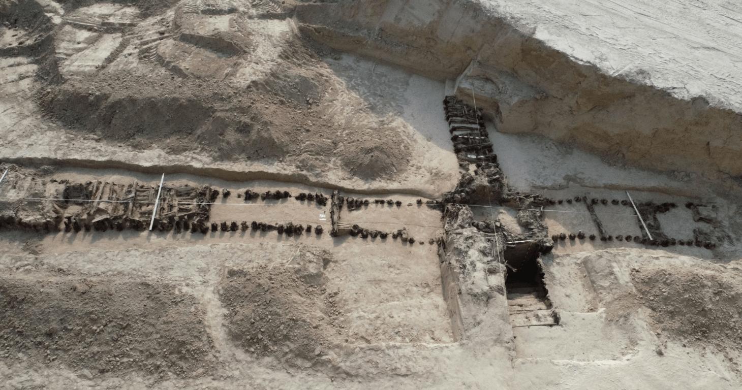 Lublin: kolejne odkrycie na budowie przy ul. Spokojnej. To pozostałości wojennego schronu - Zdjęcie główne