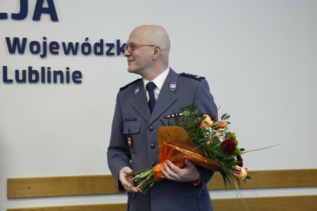 Zastępca Komendanta Wojewódzkiego Policji w Lublinie odchodzi na emeryturę - Zdjęcie główne