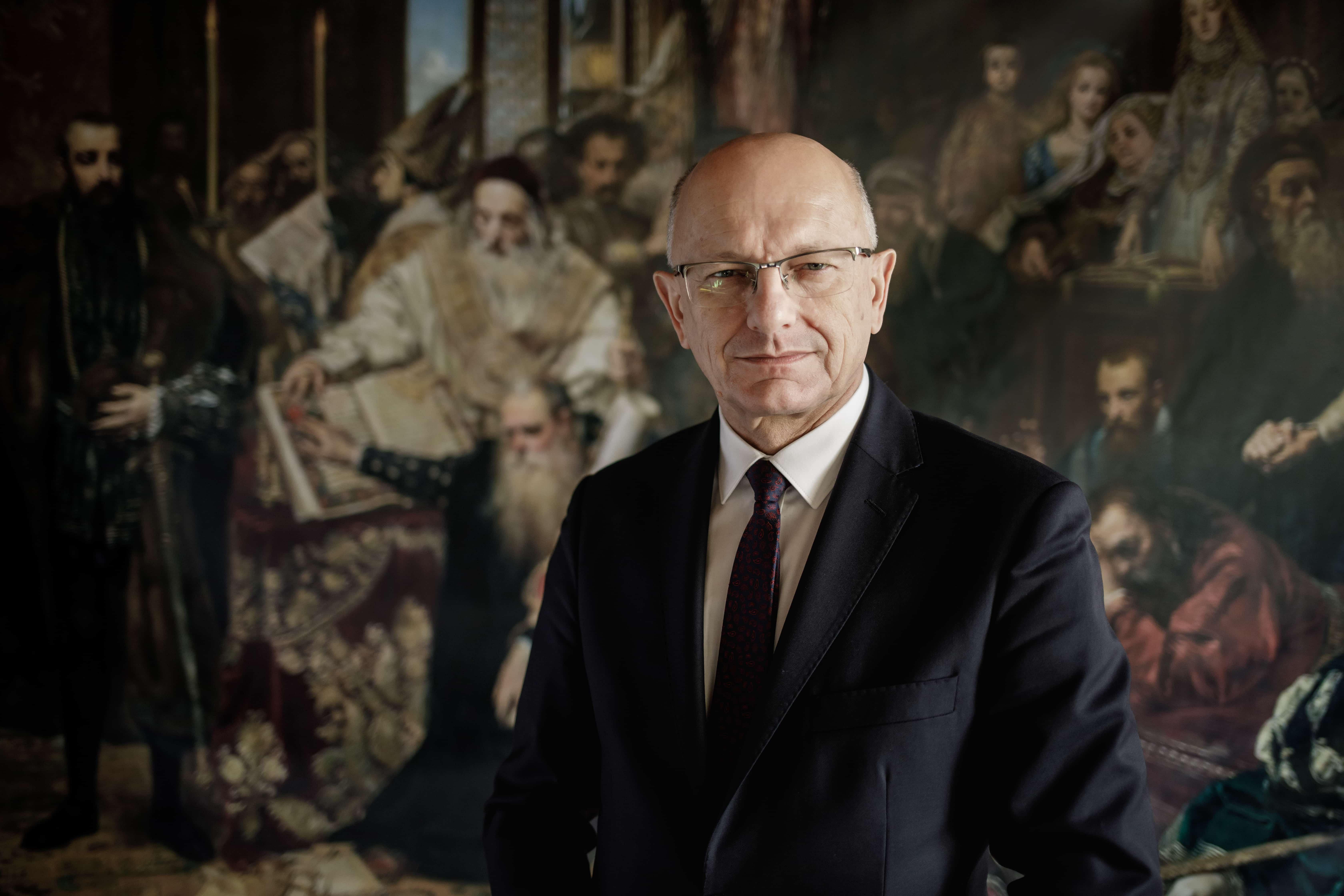 Krzysztof Żuk - prezydent Lublina z Nagrodą Polskiej Rady Ekumenicznej - Zdjęcie główne