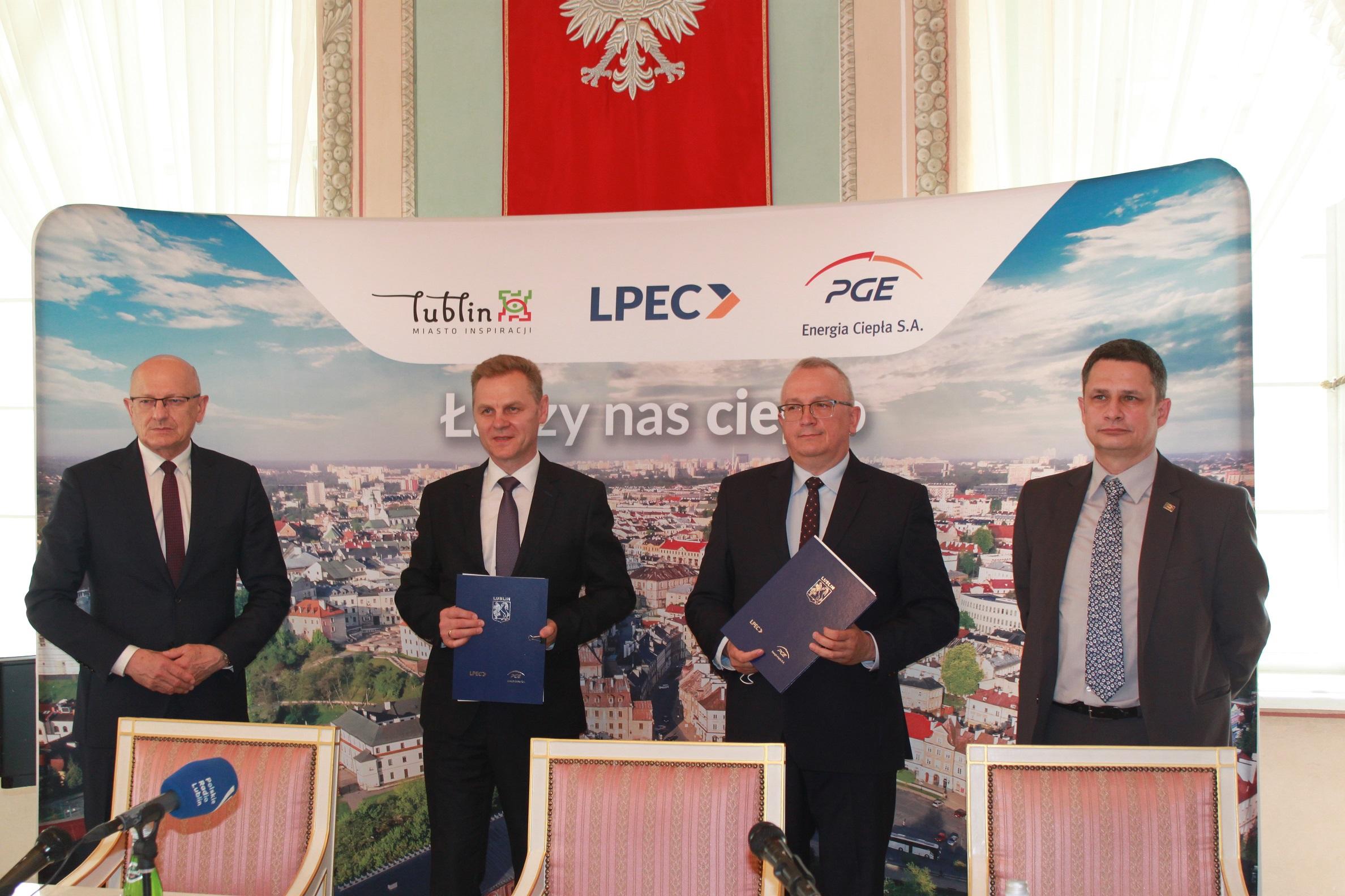 Lublin: miasto z gwarancją dostaw ciepła na kilkanaście lat. Podpisano umowę z LPEC i PGE - Zdjęcie główne